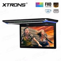"XTRONS 15.6"" Monitor 1080P Video FHD Digital TFT Wide Screen Ultra-thin Roof Mounted"