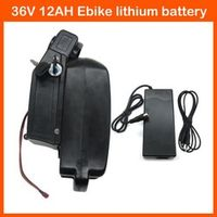 500W Rechargeable Lithium Battery ebike battery 36V 12AH For Bicycle Scooter