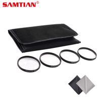 SAMTIAN 49MM 52MM 55MM 58MM 62MM 67MM 72MM 77MM Macro Close Up Filter Lens Kit
