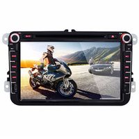 KONNWEI 8 inch LCD Screen Car DVD Player 1080P Full HD Digital Built-in Bluetooth
