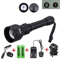 VASTFIRE 850nm IR Hunting Torch Long Range Infrared Flashlight 25 MM Rifle 2 pcs