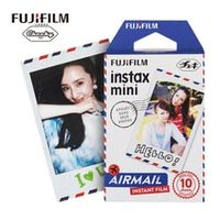 Fujifilm Instax Mini Instant 10 sheets Air mail Color Film for Mini 7s 8 25 50s