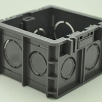 Fire resistant  plastic  switch socket Mounting Box, wall Box , Wall Switch box,UK Standard