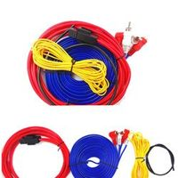 Installation Wire Cable Kit Car Audio Subwoofer  Installation Wire Cable Kit