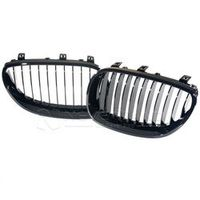 NEVERLAND For BMW M5 E60 E61 5 Series 2003-2010 Gloss Black Kidney Grills Front
