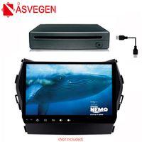 Asvegen Android Car Radio GPS Navigation Multimedia Portable Universal External 1Din