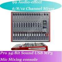 MICWL 12 Channel Top-Quality Microphone Wireless Bluetooth Mixing Console Mixer -