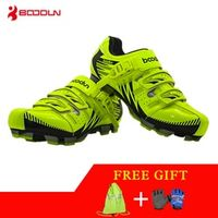 Boodun Breathable Mountain Spring Summer Sports Road Riding Lock Cycling Shoes Men