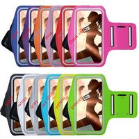 LUOSHUYAN Adjustable protect pouch Case Mobile Phone Armbands Gym Running