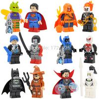 Legoingly 12pcs Dr Strange Suicide Squad Figure Set Ghost