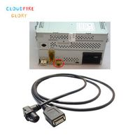 CloudFireGlory 3AD035190 Rcd510 Harness Cable Adapter with USB interface For VW Polo