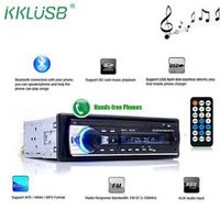 kklusb 1 Din Autoradio Bluetooth V2.0 JSD-520 Stereo Car Radio 12V In-dash FM