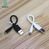 16CM Super Short Powerbank USB Cable Micro USB 8 pin cable Jack Charger Charging Adapter
