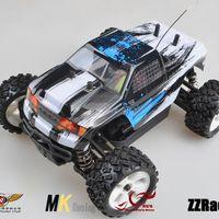 MK 1/16 Baja Monster Truck Brush Motor Electric Remote Control Car 25A Waterproof ESC Free Shipping