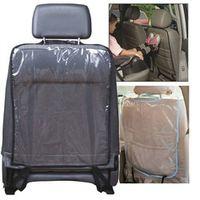 ISHOWTIENDA Car Seat Back Protector Children Kick Mat Mud Clean Protection
