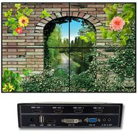 all gee DIY 2x2 video wall processor for 4 tv display 4 hdmi output