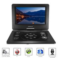 GKNUO 10. 1 Inches DVD Player Portatil 16:9 TFT Screen Pixe 1024 * 600 Support SD USB