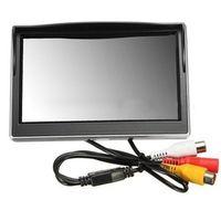 "ANENG New 5"" 800*480 TFT LCD HD Screen Monitor for Car Rear Rearview Backup Camera"