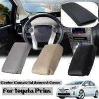 Autoleader PU Leather Car Center Console Armrest Auto Arm Rest Box Pad Lid Cover