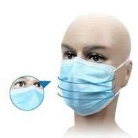 U-Kiss 50 Pcs Elastic Disposable Medical Dustproof Surgical Face Mouth Masks Ear Loop