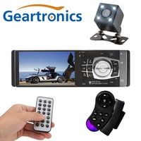 Geartronics 4012B 4.1 inch 1 Din Car Radio Auto Audio Stereo FM Bluetooth 2.0 Support