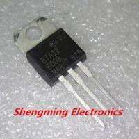 Blucksun 10pcs BTA12-600B BTA12 TO-220 transistor