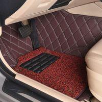 Custom car floor mats for Mercedes Benz X164 X166 GL GLS class GL350 GL450 GL550