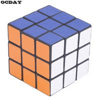 OCDAY 53mm Classic Magic 3x3x3 PVC Sticker Block Speed