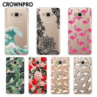 CROWNPRO FOR Coque Samsung Galaxy Grand Prime Cover G530 G5308W Phone Back