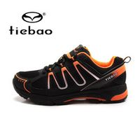Tiebao Bicycle Cycling Shoes Breathable Athlitic MTB Self-locking Mountain