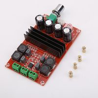 ALLOYSEED Tube Digital Amplifier Board 2*100W Power 100db Audio Amp 2.0 Class D