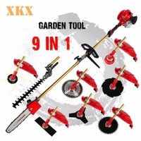 FengKe 2 stroke 52cc 1.75kw 9 in 1 Pole Chainsaw Hedge Brush Cutter Grass Trimmer
