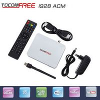 TOCOMFREE Digital Satellite receiver FTA ChannelsTocomfree i928ACM iks support newcam