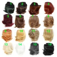 1piece 5cm black white brown color straight for 1/3 1/4