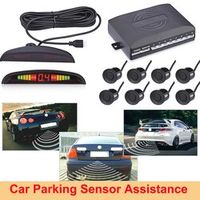 Excelvan Parking Sensor Auto Parktronic LED Display Reverse Backup Car Parking Radar