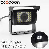 XCGaoon Universal Car Rear View Camera 170 Degree Waterproof 24 LED Nights Vision