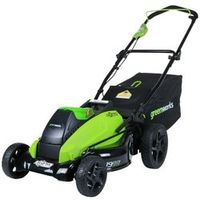 1200 m GreenWorks 2501302 G-MAX 40V 19-Inch Cordless Lawn Mower 4AH Battery Charger