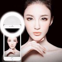 W & 5 Selfie Ring Light Portable Flash Led Camera Phone Enhancing Photography