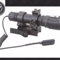 Vector Optics Magnus Hunting Green Laser Adjustable Flashlight Designator Torch