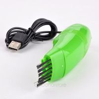 RV77 USB Mini Keyboard Dust Vacuum Cleaners Brushes for Computer Laptop Tools