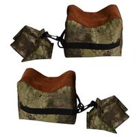 Mayitr Portable Camouflage Shooting Rest Bag Set Front Rear Rifle Target Bench