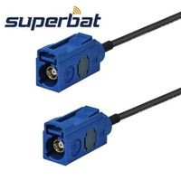 """Superbat Female Jack Fakra straight pigtail RG174 """"C"""" GPS Antenna extension cable 6M"""
