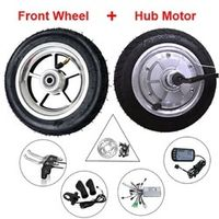 ANNOYBIKE Hub Motor 8'' 24-48v 250-350w Tire 8x2.00-5 BLDC Wheelchair Wheel Electric