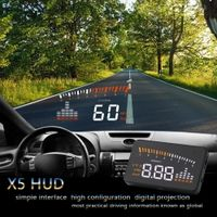 "sikeo hud head up display X5 3"" Car-styling Universal Over-speed Alarm Digital car"