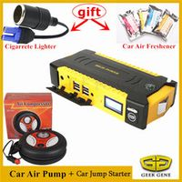 GEEK GENE High Petrol Diesel Car Jump Starter Portable 600A Pack Car Battery