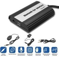 Autoleader Wireless Bluetooth Car Kit Music Hands Free Interface Stereo USB AUX