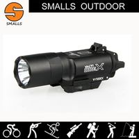 tactical flashlight SF style X300 Ultra LED Weapon Light fits 20mm picatinny rail
