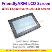 FriendlyARM X710 Capacitive LCD Touch Panel 1024*600 Resolution one-wire technology