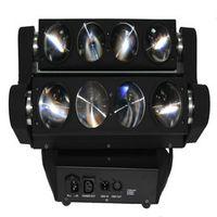 DHL FEDEX rotating head light led spider 150w 8x10w rgbw beam moving head light
