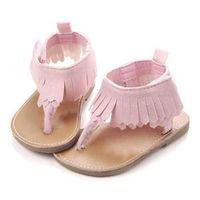 2017 Baby Girls First Walkers Toddler Shoes Beach Shoes Flat Heels Soft Sole Shoes